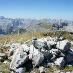 Measuring the elevation at Zla Kolata peak.