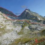 The hiking trail to Zla Kolata (Kollata e Keqe) on Prokletije mountains