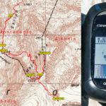 GPS elevation value at Zla Kolata peak in Prokletije mountains
